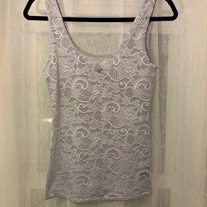 Aritzia Talula Lavender Lace Top- Size XS